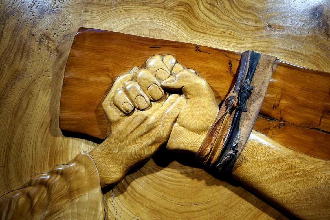 art board carpentry carved